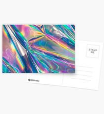 holografisch Postkarten