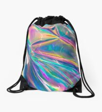 holographic Drawstring Bag