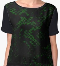 Slytherin Skin Chiffon Top