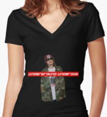 Pouya Supreme Women's Fitted V-Neck T-Shirt