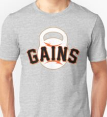 Giant Gains Unisex T-Shirt