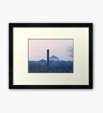 Midwest Sunset Framed Print