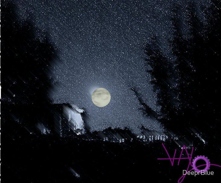 Interpretation of October 2007 Harvest Moon by DeeprBlue