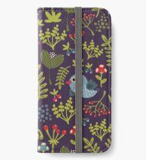 Folk birds iPhone Wallet/Case/Skin