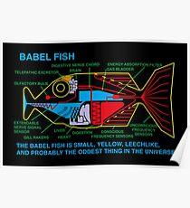 NDVH Babel Fish Poster