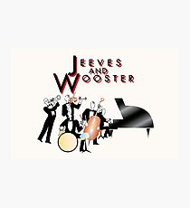 NDVH Jeeves and Wooster Photographic Print