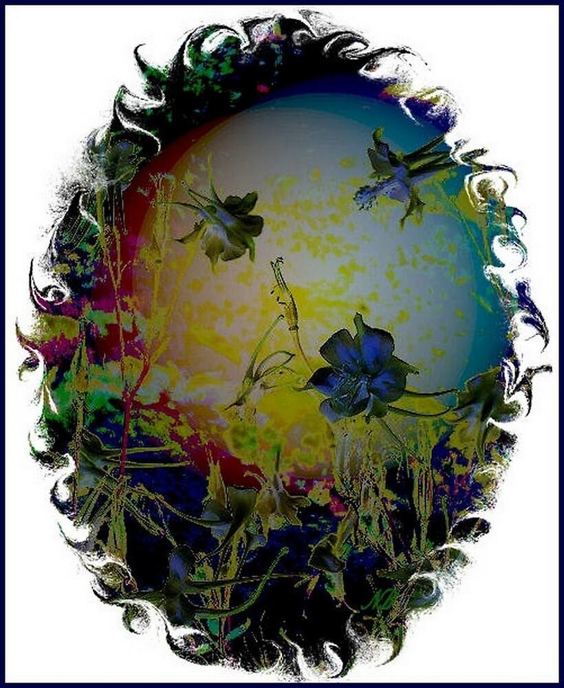 Mystical Columbines by angelheart