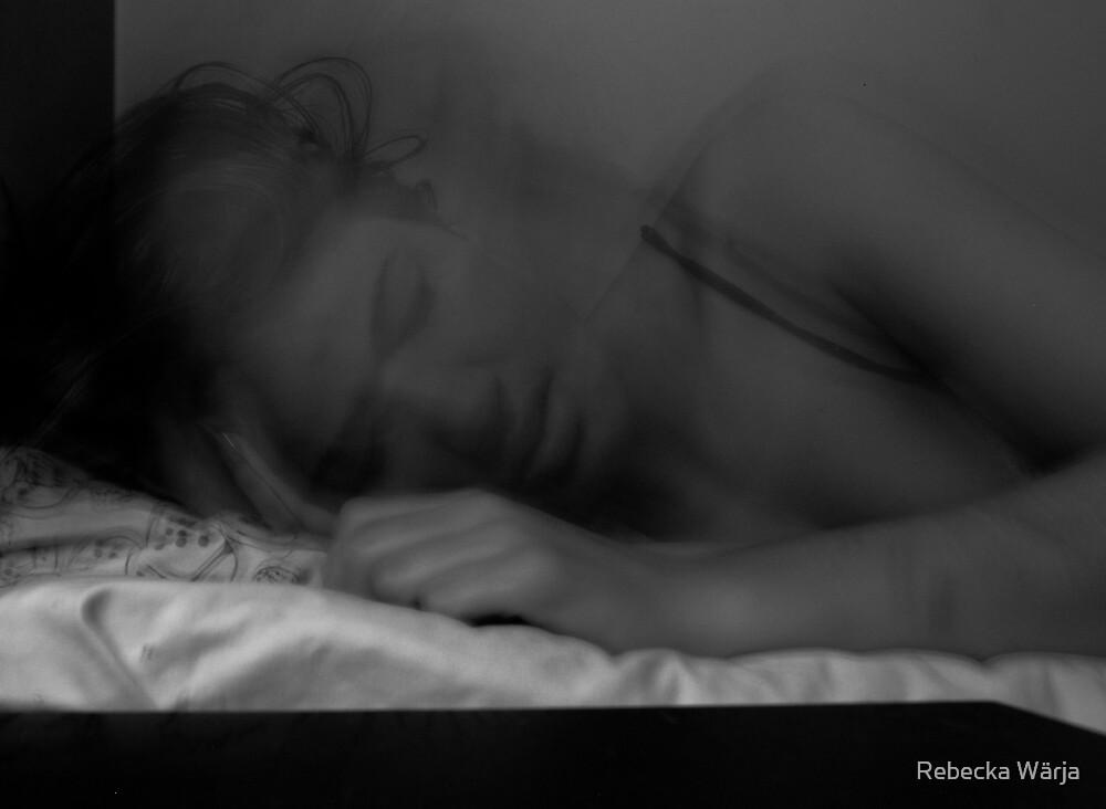 Trouble sleeping by Rebecka Wärja