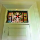 *Recessed doorway with religious panel* by EdsMum