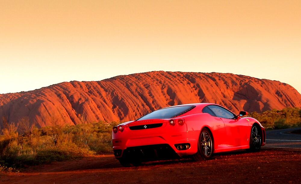 Rosso Corsa Uluru by Ash Simmonds