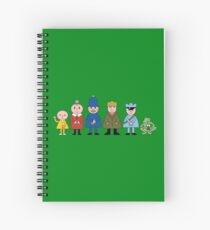 NDVH Bod and friends Spiral Notebook