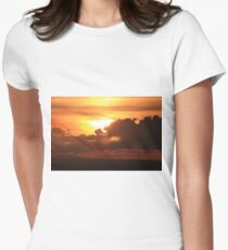 Sunset formations Women's Fitted T-Shirt
