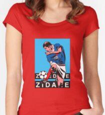 zidane Women's Fitted Scoop T-Shirt