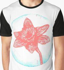 Daffodil Birth Flower - March - Coral Graphic T-Shirt