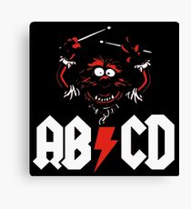 Animal Drummer - ACDC Canvas Print