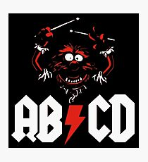 Animal Drummer - ACDC Photographic Print