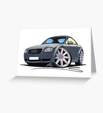 Audi TT Grey Greeting Card