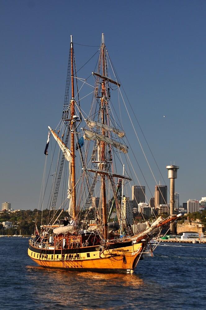 Windeward Bound @ Darling Harbour, Sydney, Australia 2013 by muz2142