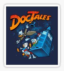 DocTales Parody Design Sticker