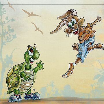 The Tortoise and the Hare by kathrynmp