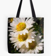 Painted Daisy's Tote Bag