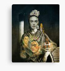 Frida Kahlo Dream Canvas Print