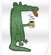 Infinite Jest - The Crocodiles Poster