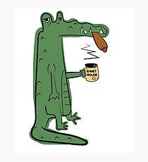 Infinite Jest - The Crocodiles Photographic Print