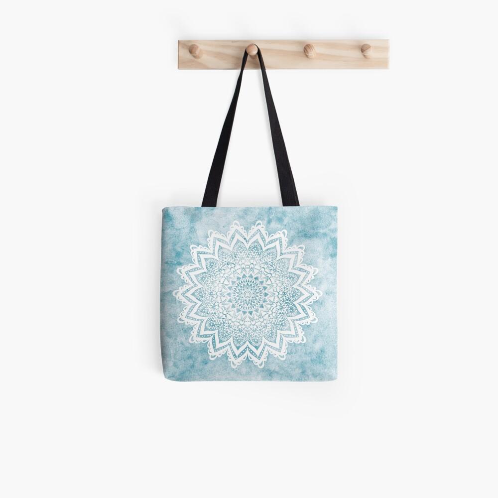 MANDALA SAVANAH LIGHT BLUE Tote Bag