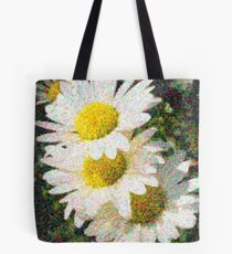 Impressionist Daisy Tote Bag