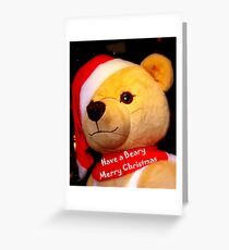 Have a Beary Merry Christmas Greeting Card