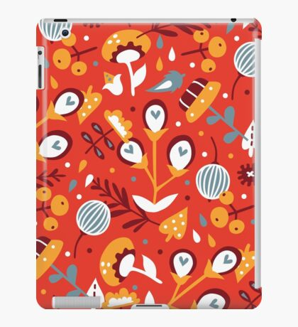 Awesome spring (red) iPad Case/Skin