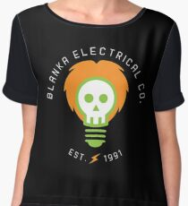 blanka electrical co. Chiffon Top