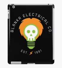 blanka electrical co. iPad Case/Skin