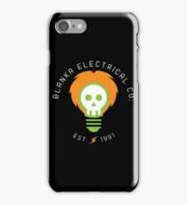 blanka electrical co. iPhone Case/Skin