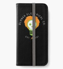 blanka electrical co. iPhone Wallet/Case/Skin