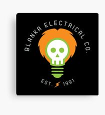 blanka electrical co. Canvas Print