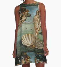Birth of Venus - Botticelli  A-Line Dress