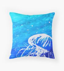 Jelly Below Throw Pillow