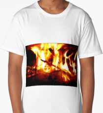 Fireplace Long T-Shirt