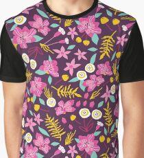Wild Alstromeria Graphic T-Shirt