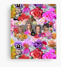 Princesses mugshots Canvas Print