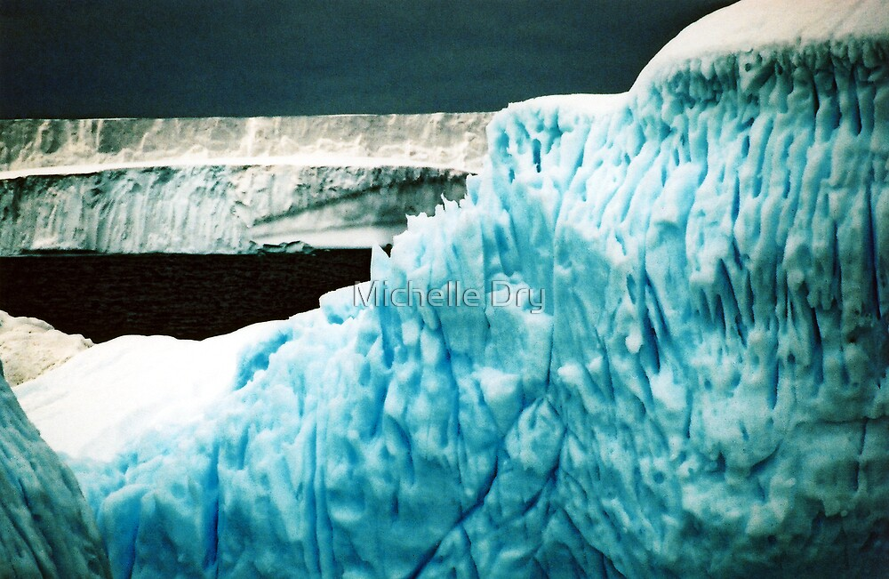 The bergs... by Michelle Dry