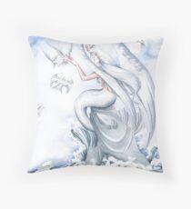 Pristine Throw Pillow