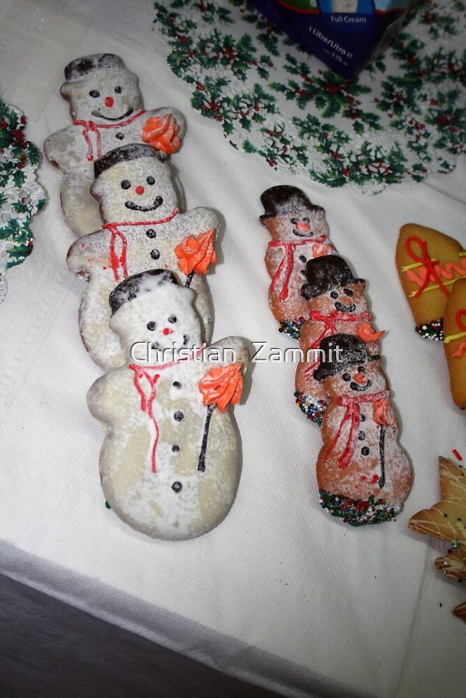 Yummy Yummy...SNOWMEN by Christian  Zammit