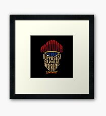 m bison wins Framed Print