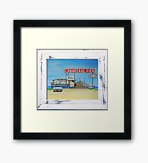 Canaveral Pier 1963-64 by MGilroy ... p9 Framed Print