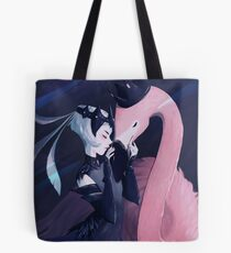 flamingo warrior Tote Bag