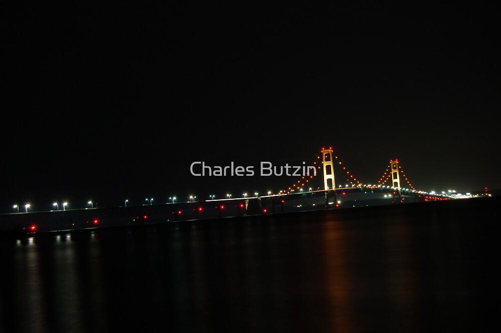 Mackinaw Bridge  by Charles Butzin