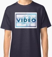 Tablet technology show black white projector film cinema Classic T-Shirt